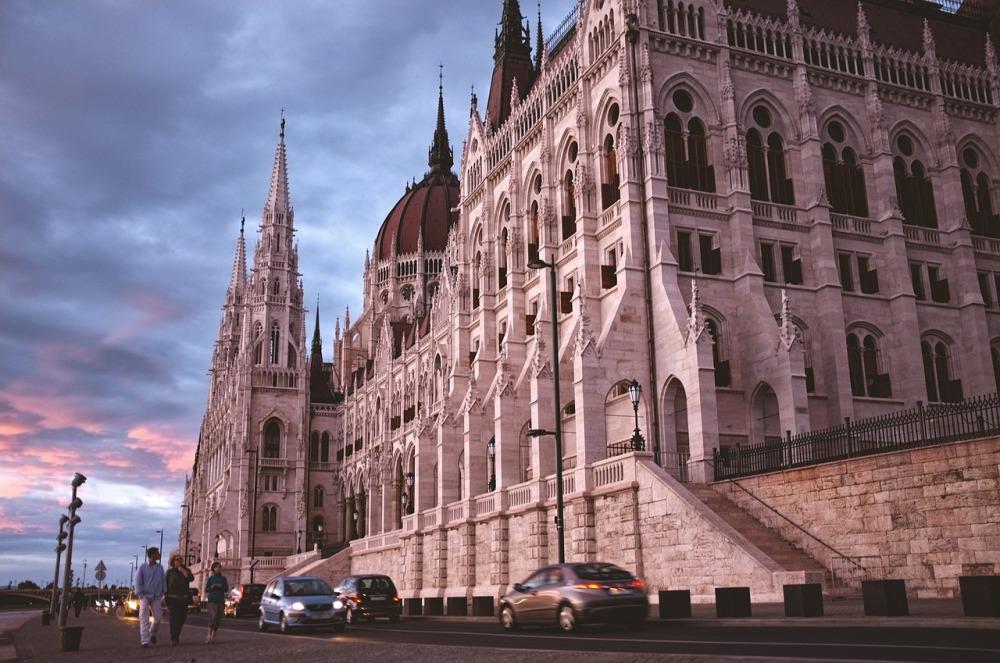 Visiting Budapest Parliament