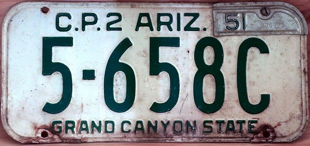 Car Plates Living WIth OCD