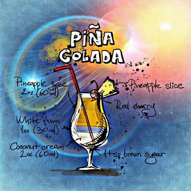 Pina Colada Best Cocktails In Vienna
