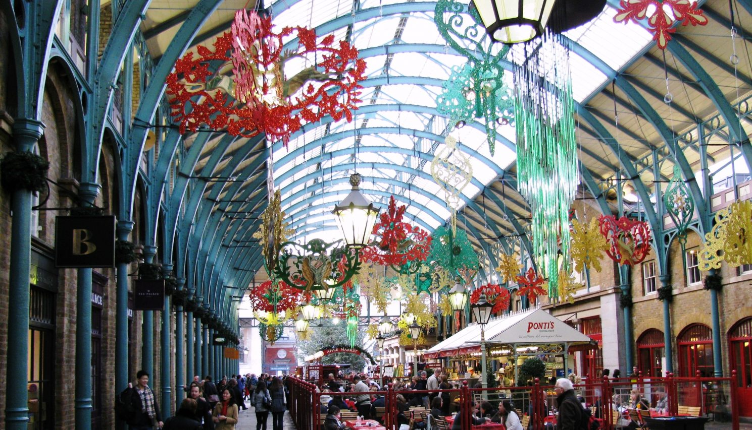 London Food Markets Covent Garden