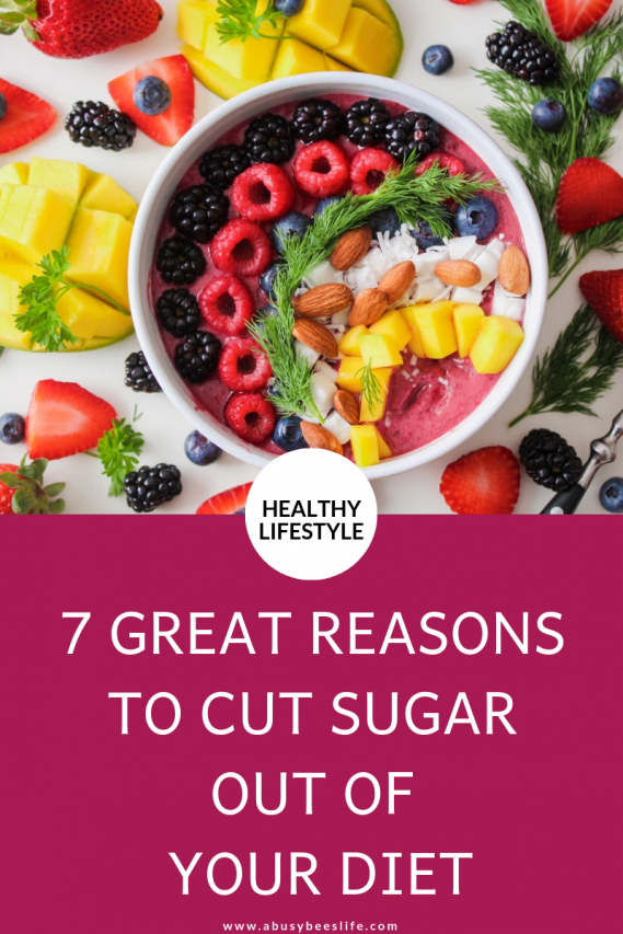 Are you a sweet tooth and go overboard with the amount of sugar you take in on a daily basis Click through to learn the great reasons to cut sugar from your diet. and how you will benefit from detoxing your body of sugar. #healthy #lifestyle #detox #weightloss #results #lowcarb #abusybeeslife